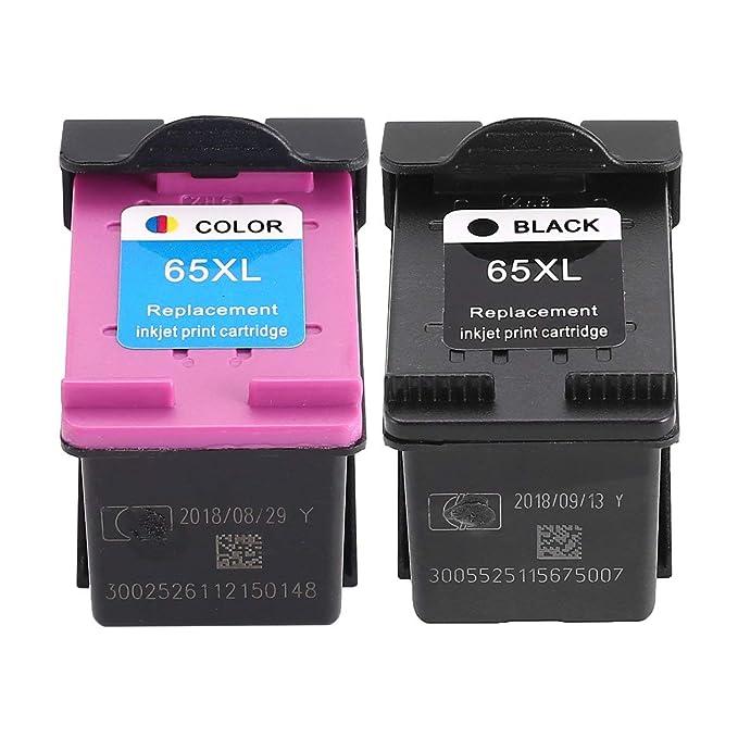 Cartucho de Tinta para HP65XL HP 65 para HP DeskJet 3720 ...
