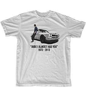 5239788f2 Amazon.com: Tshirt Bandits Men's Rip Paul Walker T-Shirt White: Clothing