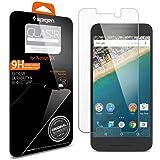 【Spigen】 Nexus 5X ガラスフィルム GLAS.tR SLIM [ 近接センサー対応 液晶保護 9H硬度 Rラウンド 加工 ] ネクサス 5x 用 (GLAS.tR [SLIM] SGP11815)