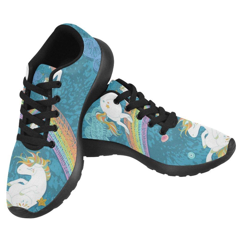 InterestPrint Women's Jogging Running Sneaker Lightweight Go Easy Walking Casual Comfort Sports Running Shoes Size 11 Cute Baby Unicorns