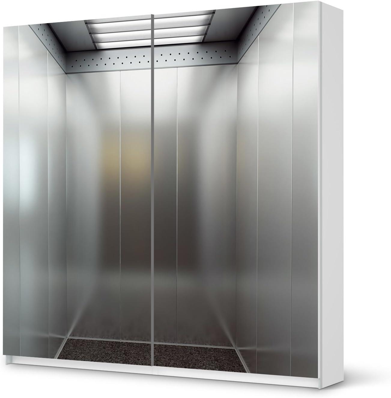 Los muebles-adhesivo de IKEA PAX armario de 201 cm de altura - puerta corredera/con diseño de pegatinas de bloqueador de escalada/Autoadhesivo de protección: Amazon.es: Hogar