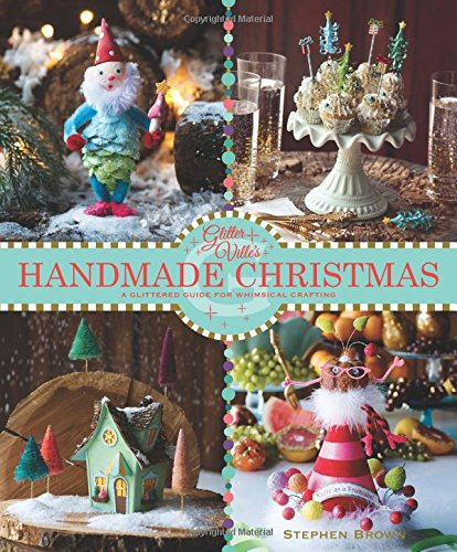 Pink Christmas Decorating Ideas - Glitterville's Handmade Christmas: A Glittered Guide for Whimsical Crafting!