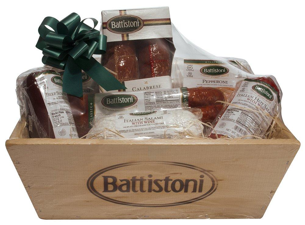 Gourmet Italian Meat Lovers Gift Basket