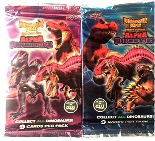 Upper Deck Dinosaur King Trading Card Game Booster