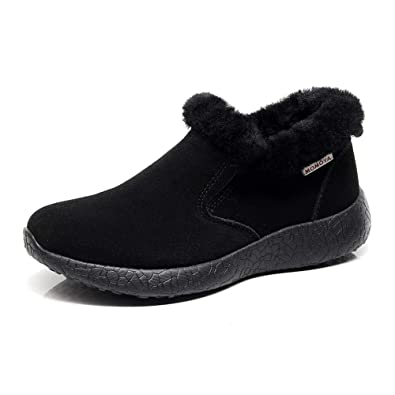 86cc4a692ff7 hello momoya Sheepskin Winter Boots Snowboots Warm Shoes Warm Comfort Cozy  Wool Cow Suede Shoes Ankle