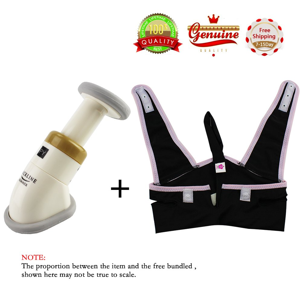 EYX Formual Neckline Slimmer Massager + V Line Jaw Belt for Double Chin Reduce and Anti-aging Mask and Exerciser EYX Formula