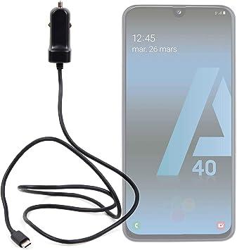 DURAGADGET Cargador de Coche USB C para Smartphone Samsung Galaxy ...