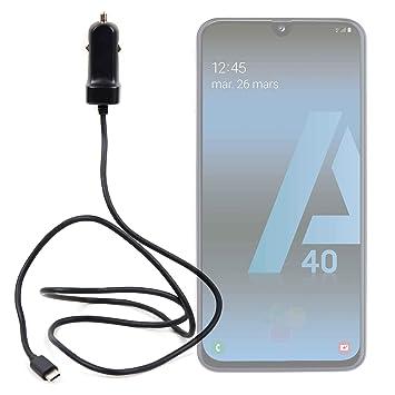DURAGADGET Cargador de Coche USB C para Smartphone Samsung ...
