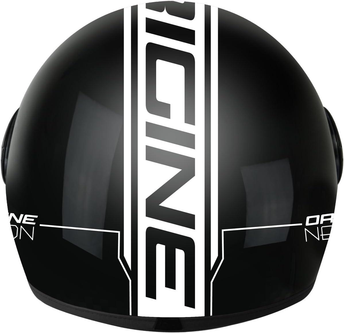 talla XL 201585010100106/- Casco Demi Jet Neon urbano Origine Helmets color negro