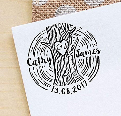 - Printtoo Custom Save The Date Stamper Personalized Wedding Invitation Rubber Stamp Gifts