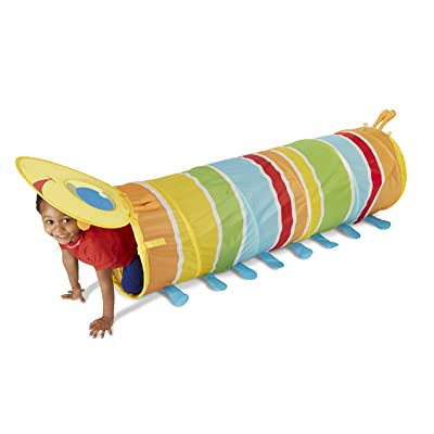 Melissa & Doug Sunny Patch Giddy Buggy Crawl-Through Tunnel (almost 5 feet long): Toys & Games