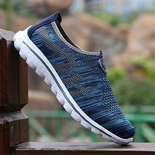 Sm2588 Respirantes Hommes Maille Chaussures Pour Légères Fzdx Les Décontractées Confortables Blue02 Yv4wxI