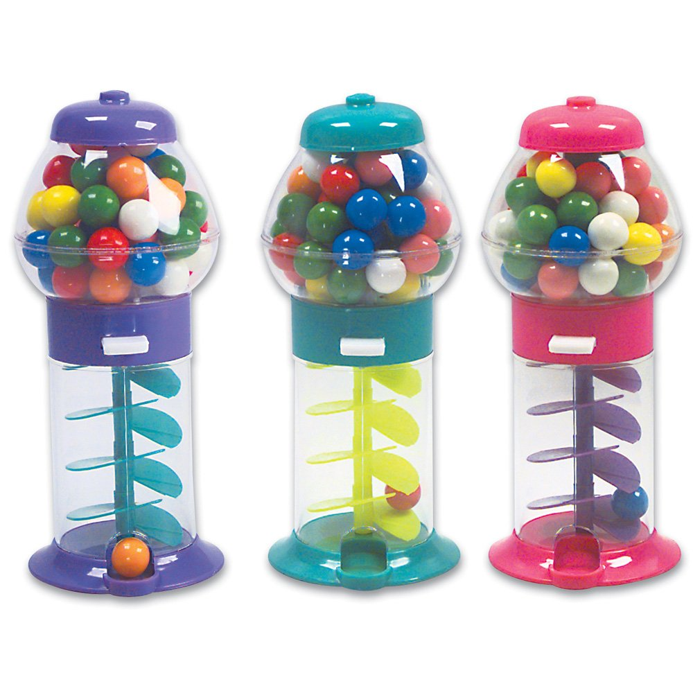 Amazon.com: Rhode Island Novelty Mini Gumball Machines Party Favor ...
