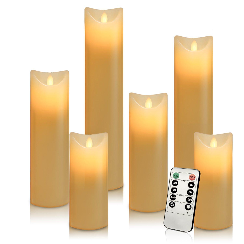 61mA3lyfd3L._SL1500_ Elegantes Elektrische Kerzen Mit Fernbedienung Dekorationen
