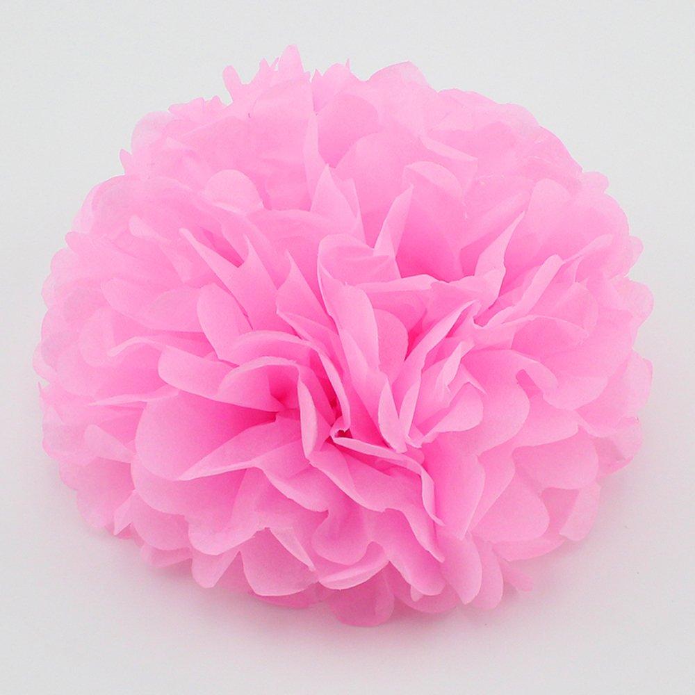 Amazon Bekith 20 Pack Tissue Paper Flowers Pom Poms Wedding