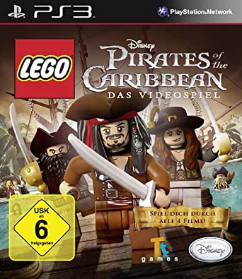 Lego Pirates Of The Caribbean Playstation 3 Amazonde Games