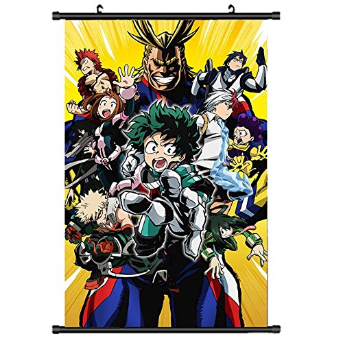 Mikucos My Boku No Hero Academia Wall Scroll painting Poster