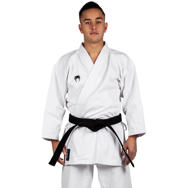 Venum GI Challenger - Traje de Karate Unisex, Color Blanco, 150 cm US-VENUM-1271-150cm
