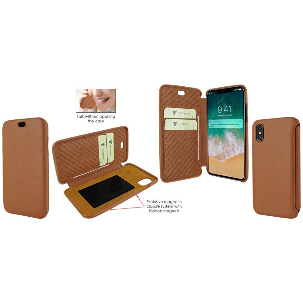 Piel Frama U794C Case ''Emporium'' for iPhone X - Tan