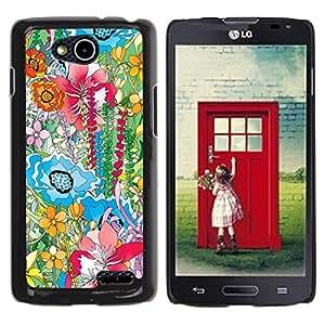 Be Good Phone Accessory // Dura Cáscara cubierta Protectora Caso Carcasa Funda de Protección para LG OPTIMUS L90 / D415 // Watercolor Painting Summer Field