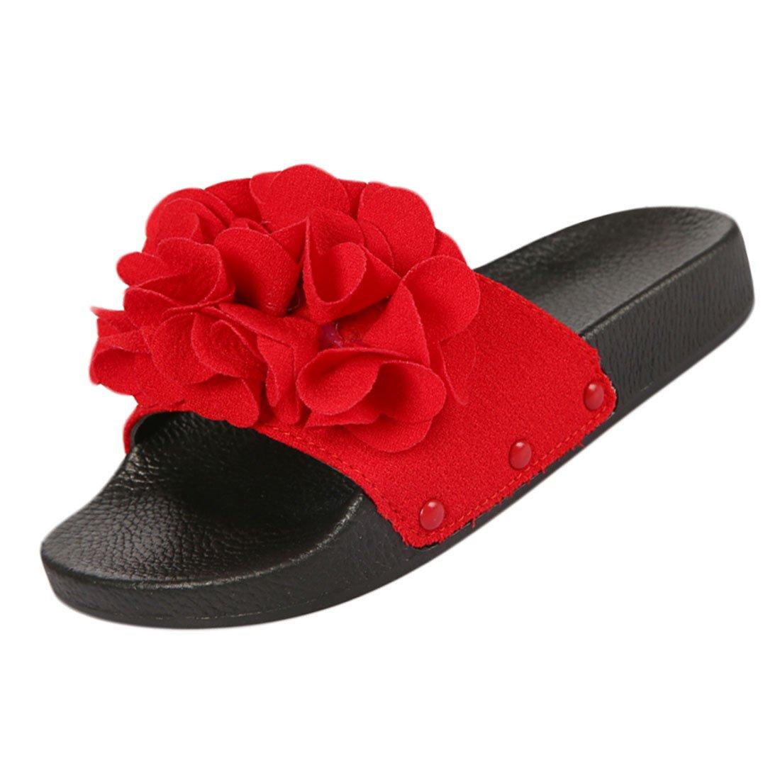 Fille Enfant Tongs Unisex Chaussure de YYF Chaussure Plat de Ete Comfortable