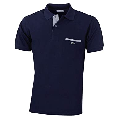 befcc5cd31d Lacoste Mens 2019 L.12.12 Contrasting Details Polo Shirt  Amazon.co.uk   Clothing