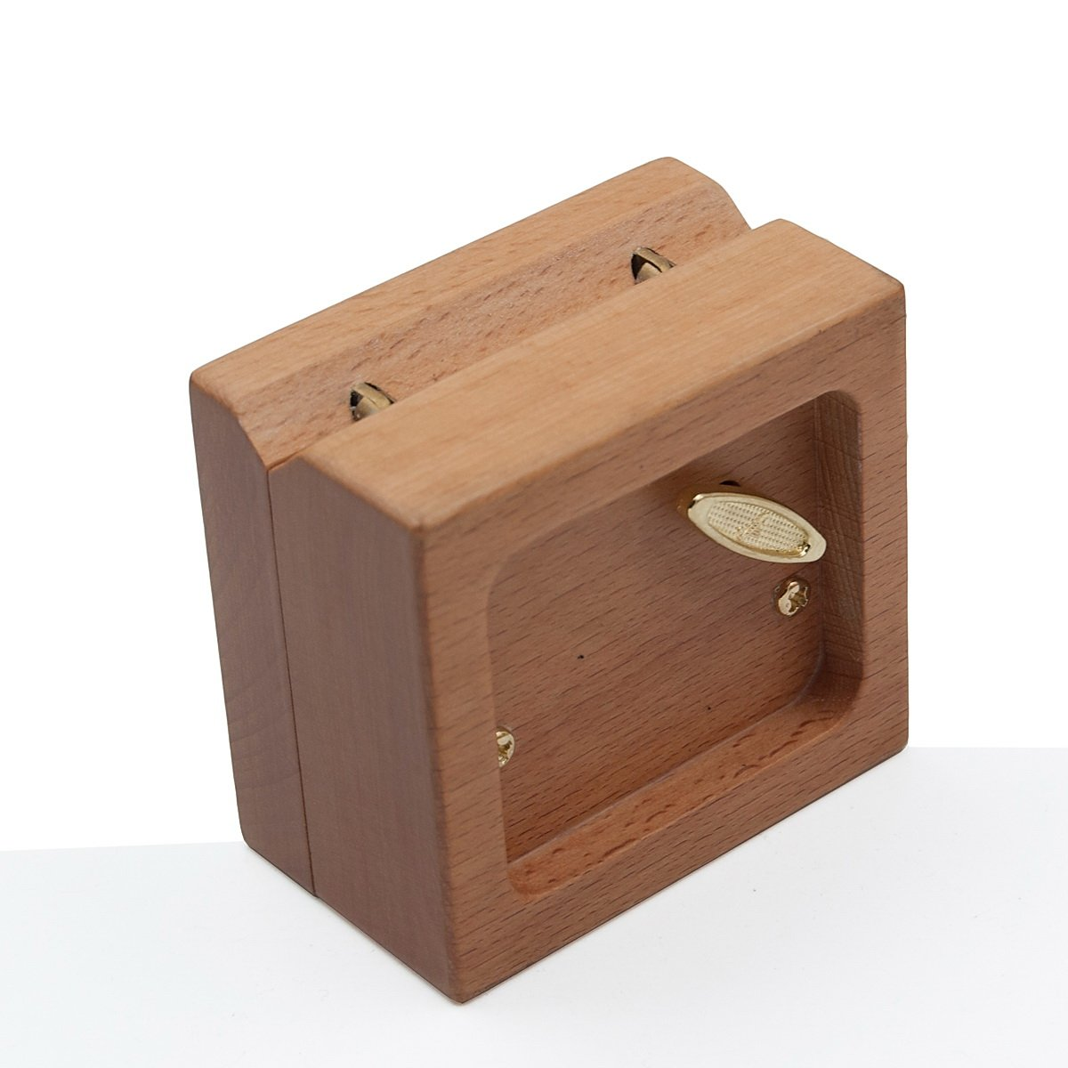 Mini 18 note wind-up Beech Wooden Music Box Tune of You Are My Sunshine For Christmas/Birthday/Valentine's day by Wingostore (Image #2)