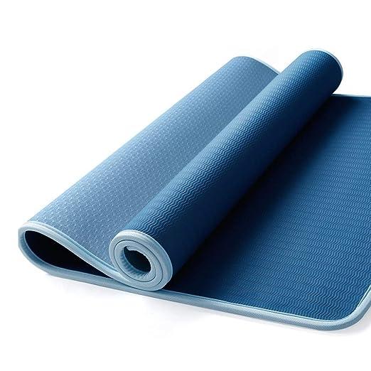 KYCD - Esterilla de Yoga de 1 cm de Grosor, Doble Cara ...