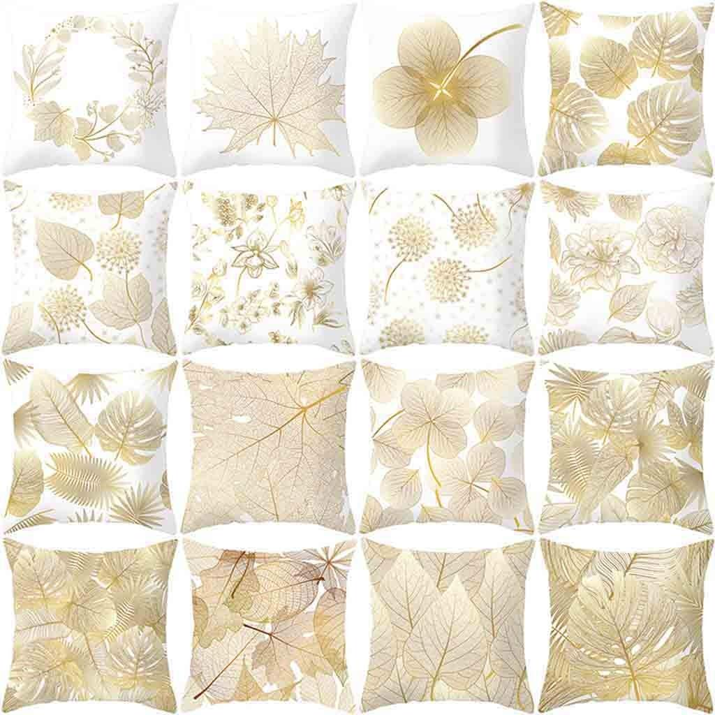 LEEDY_Pillow Case Leedy - Funda de cojín Suave y cómoda ...