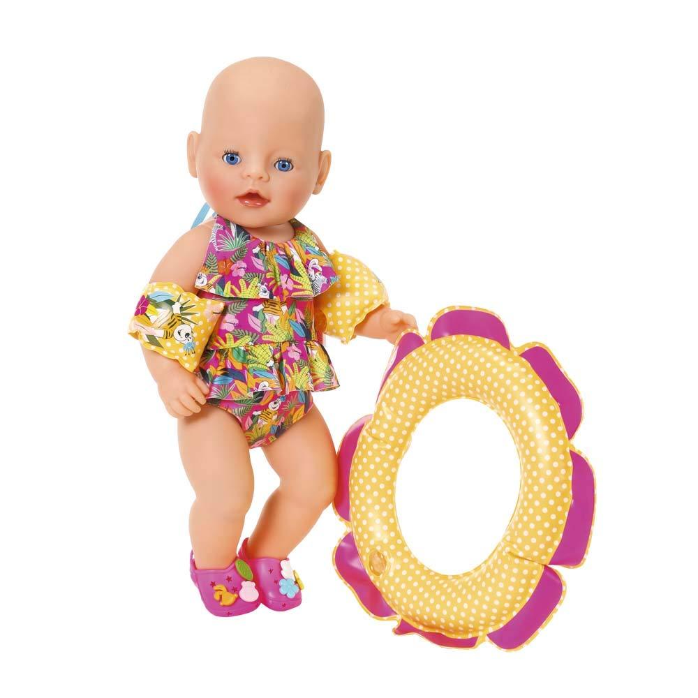 Zapf BABY born® Schwimmspaß Set ab 3 Jahren Kleidung & Accessoires Babypuppen & Zubehör