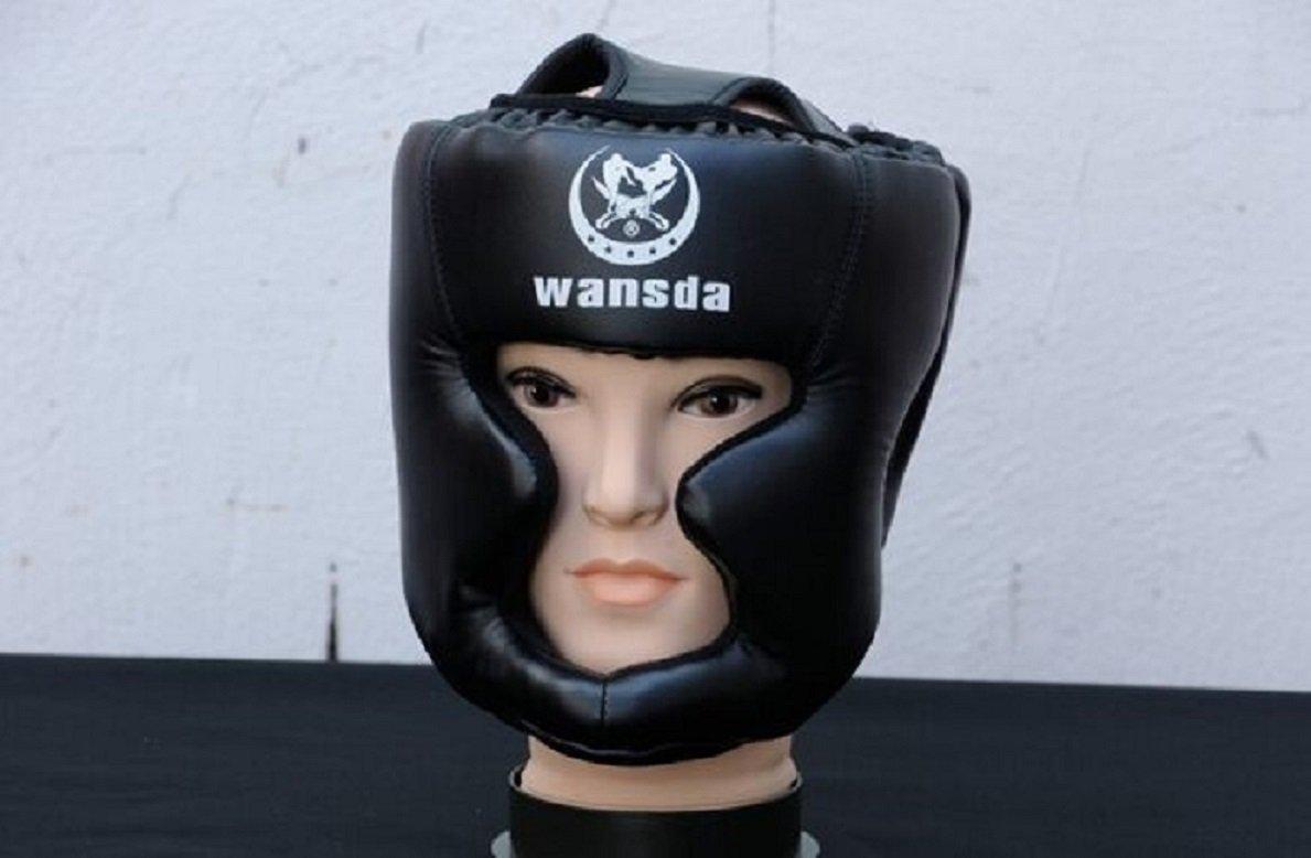 満点の e-tech WANSDA閉じたタイプボクシングヘッドガードブレーススパーリングMMAムエタイキックボクシングヘルメットヘッド保護 e-tech B016W3MKBU ブラック ブラック B016W3MKBU, レストル:921161d2 --- a0267596.xsph.ru