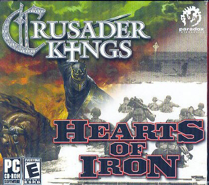 2 PC Game Set - Crusader Kings: Medieval Grand Strategy & Hearts of Iron: WWII Grand Strategy (Best Grand Strategy Games Pc)