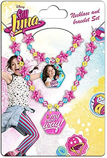 SOY LUNA - Set pulsera y collar de Soy Luna: Amazon.es: Juguetes y juegos