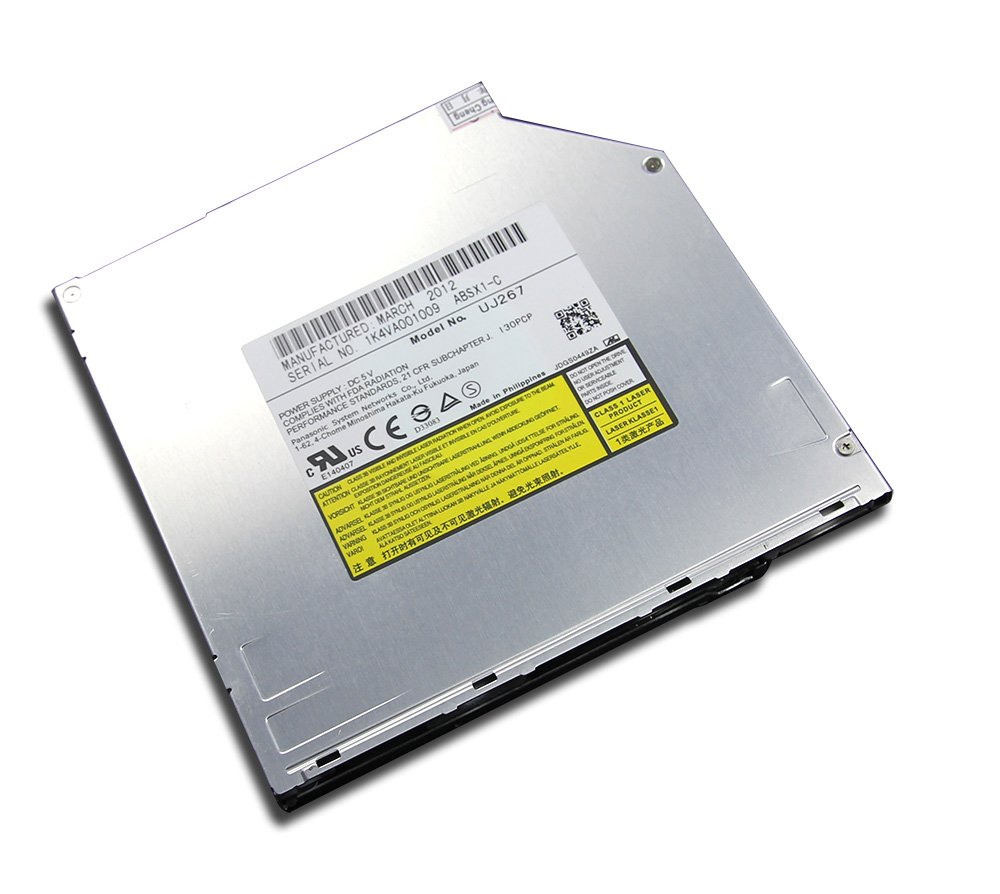 New Laptop Internal 9.5mm SATA Slim Slot-in Blu-ray Optical Drive for Panasonic UJ267 Matshita BD-RE UJ-267 Dual Layer 6X 3D Blue-ray 4X BDXL 50GB 100GB Disc Burner 8X DVD-RW DL Writer
