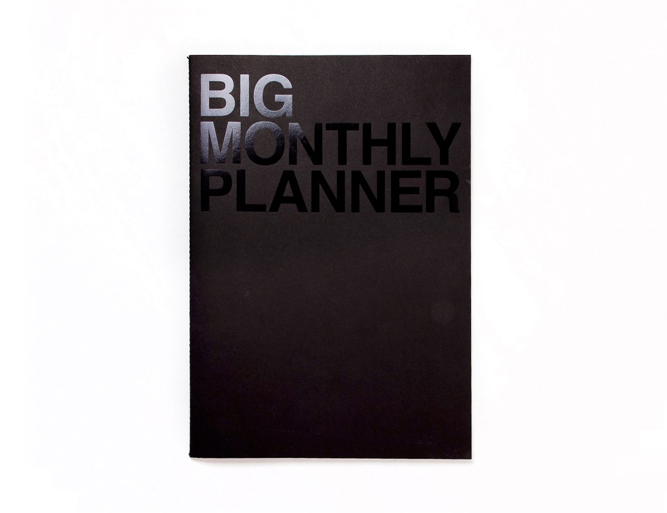 JSTORY Big Personal Wide Spaces Monthly Planner 18 Sheets Ver B