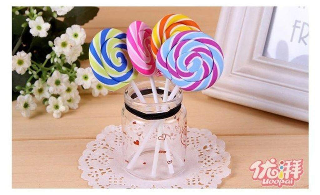 20 pieces/lot Best selling Eraser,Wholesale J-Korea rubber, lovely, lollipop eraser,Gifts,Multifunction by PPL21 (Image #5)