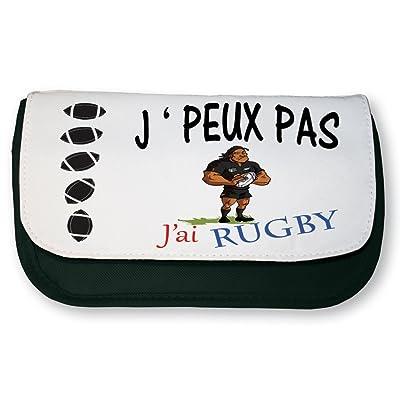 Trousse J'PEUX PAS J'AI RUGBY de marque française Blue Naja
