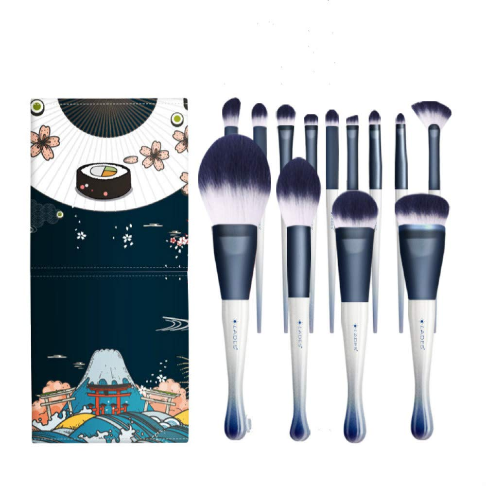 CHUHUI Makeup Brush 13 Sets Powder Brush Eye Shadow Brush by CHUHUI