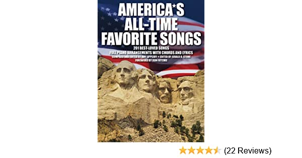 Americas All Time Favorite Songs Amy Appleby 9780825636653