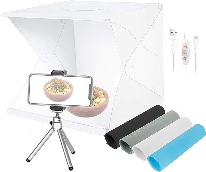 Neewer 16zoll Fotografie Tisch Licht Box 70led Tragbares Fotostudio Aufnahmezelt 3 Lichtmodi 10 Stufen Helligkeit 4