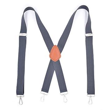 plus de photos style top vente limitée Ju-sheng Le Pantalon pour Hommes Bretelles élastiques forts ...