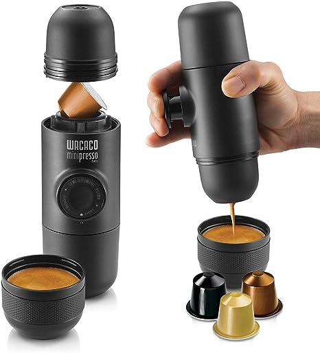 WACACO SHOP Máquina de café espresso portátil para cápsulas de ...