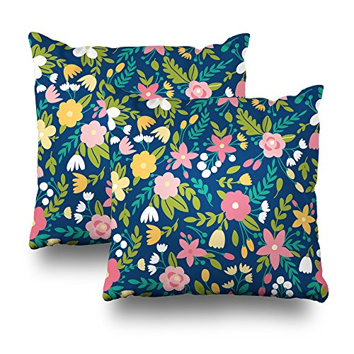 Pattern Leaf Mission (Soopat Decorative Throw Pillow Cushion Cover 18