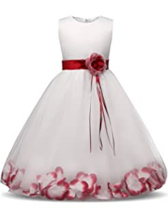 2d85f59f695 ... Red White Blue Americana 4th July Dress. 4.6 out of 5 stars 17 ·  11.20  -  31.00 · NNJXD Girl Tutu Flower Petals Bow Bridal Dress for Toddler Girl