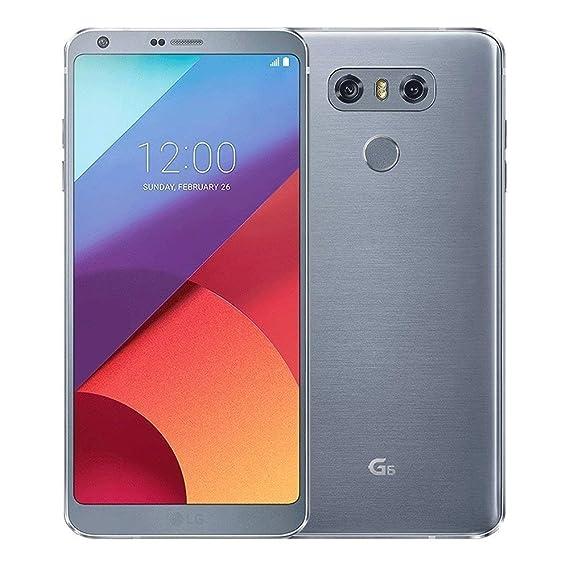 LG G6 32GB 4G LTE Sprint Android Locked, Ice Platinum (Renewed)