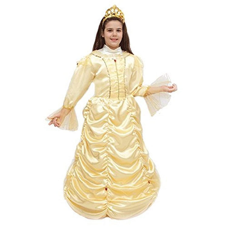 pequeños monelli Traje Bella y la Bestia niña Vestido de Princesa ...