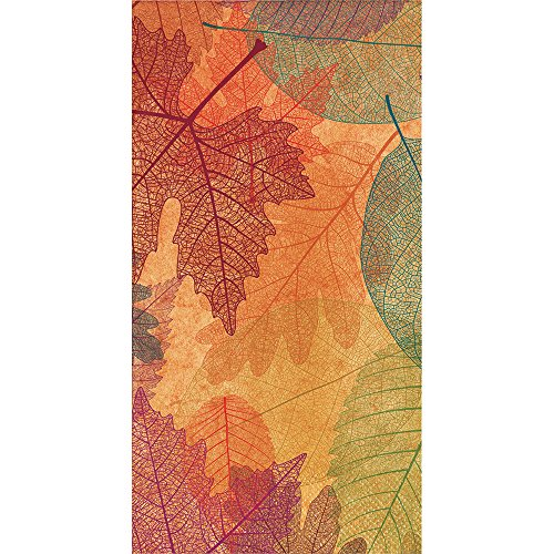 Creative Converting 324075 Party Creations Paper Napkin, Burnished Leaves
