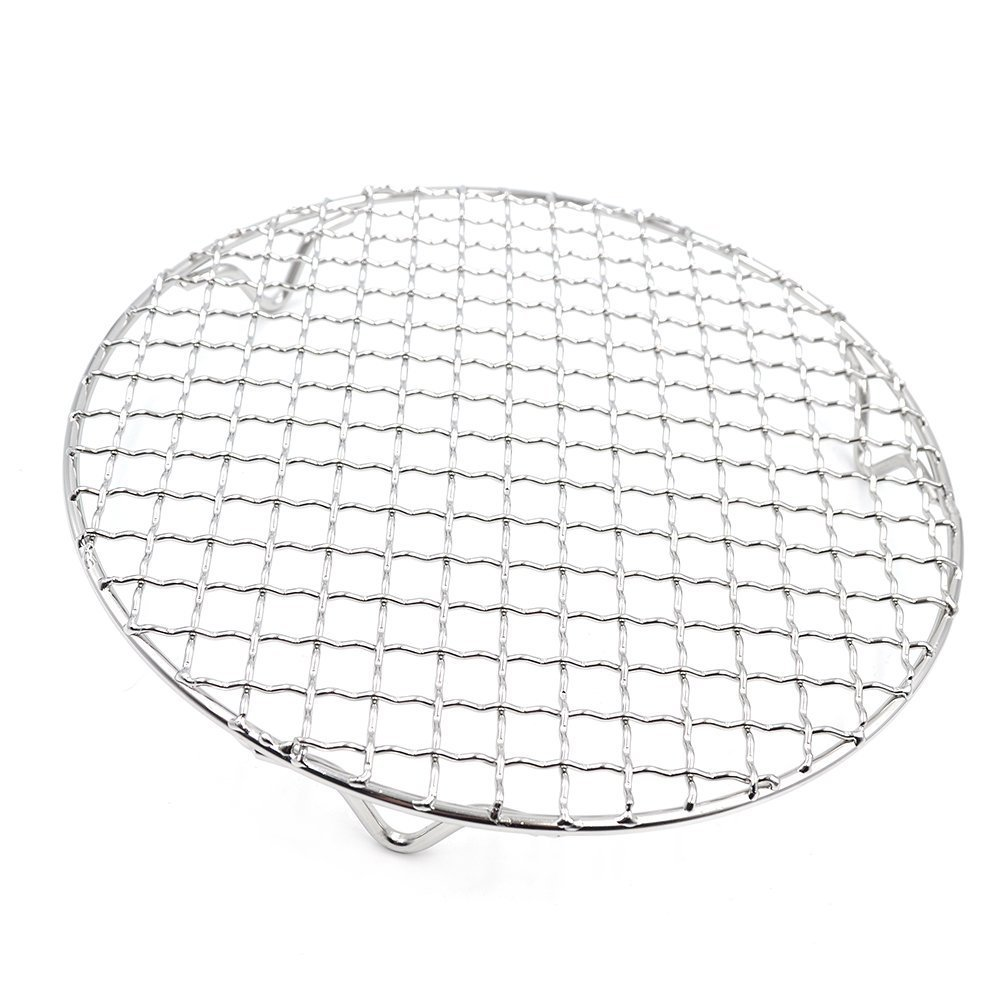 Turbokey Canning Racks for Pot Dia 12'' Carbon Baking Net Grill Pan Grate Multi-Purpose Cross Wire Rack Round Steaming Cooling Stainless Steel (305mm/12'') by Turbokey (Image #2)