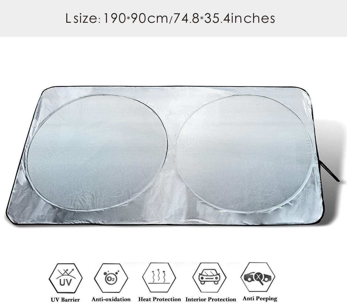 CDGroup Auto Sonnenschutz Super leichter Antrag und das Falten von Merkmal