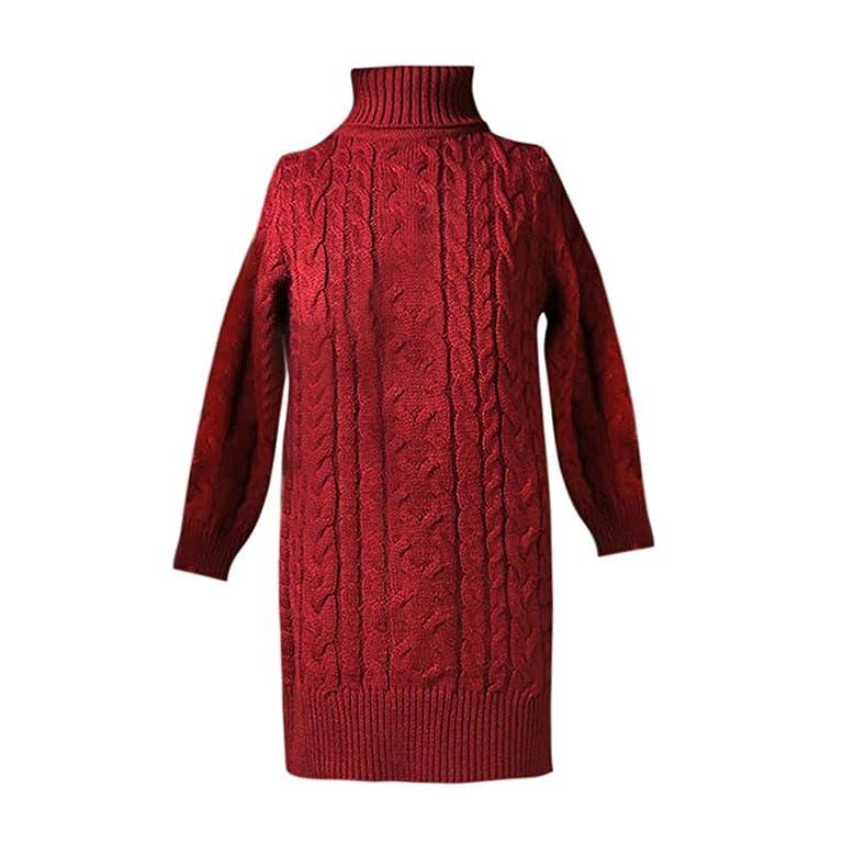 Xiting Girls Dress, 2017 Hot Sale Autumn Winter Toddler Kids Knitted Sweater Dresses